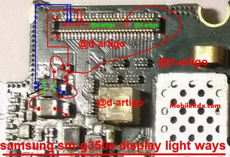 Samsung SM G350E Display Light Problem Ways