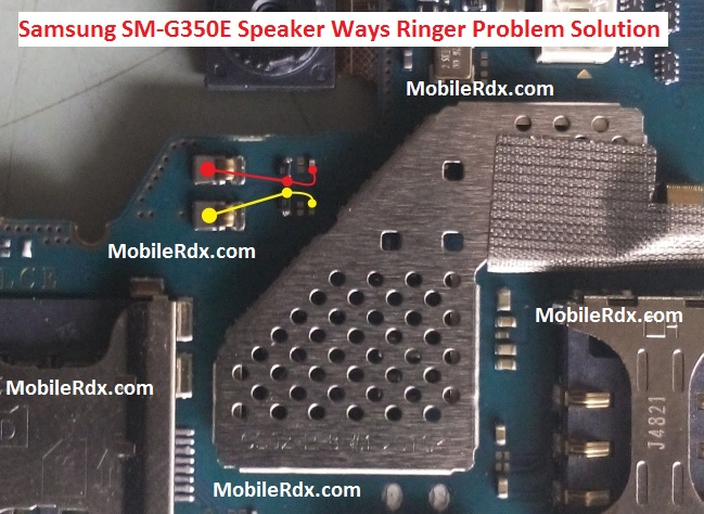 Samsung SM G350E Speaker Ways Ringer Problem Solution