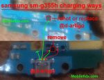 Samsung Sm-G355h Charging Ways Usb Jumper