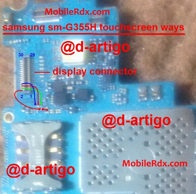 Samsung Sm-G355h Touchscreen Ways Jumper Solution