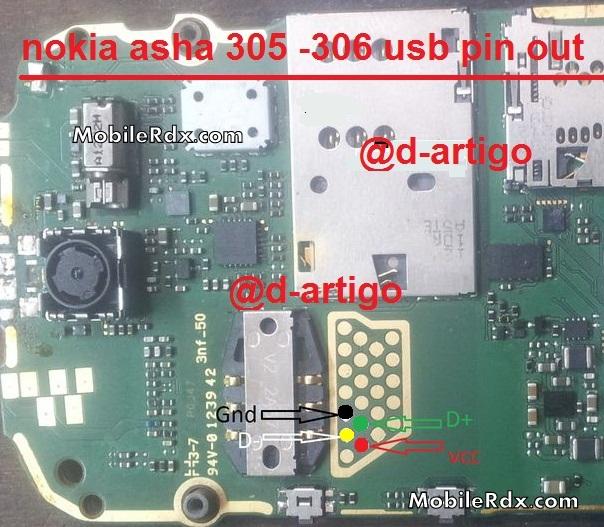 Nokia Asha 305 Usb Cable Pinoout Jumper Ways