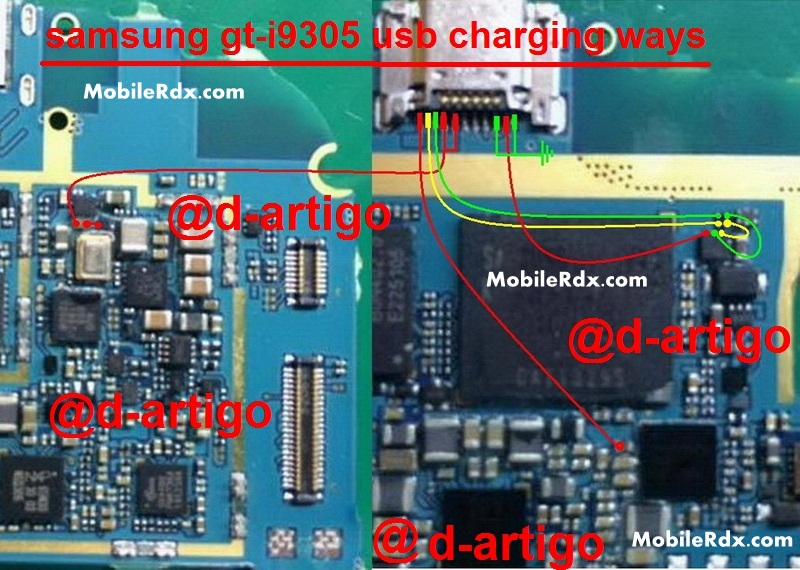 Samsung GT I9305 Charging Ways Usb Problem Jumper