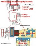 Samsung GT-N5100 Charging Ways Problem Jumper Solution