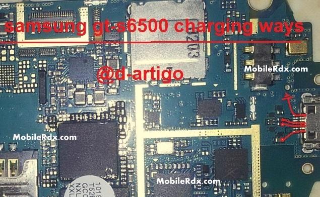Samsung GT S6500 Charging Ways Problem Solution