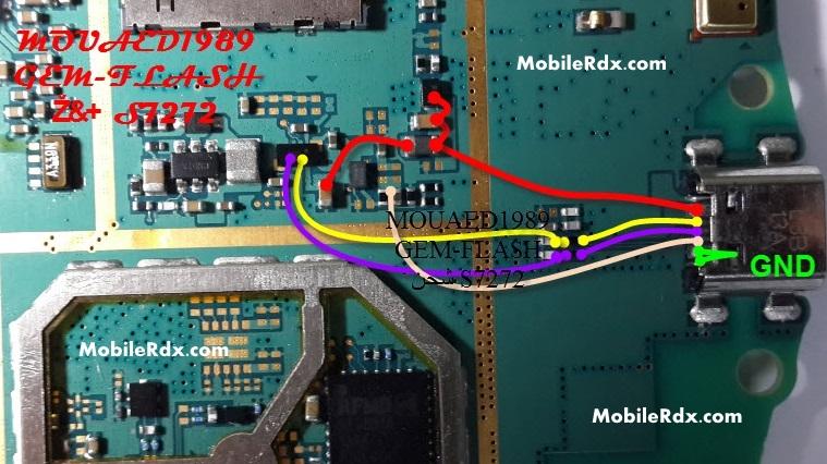 Samsung GT S7272 Charging Usb Jumper Ways