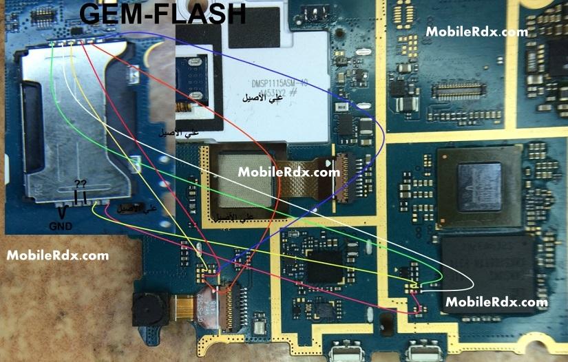 Samsung GT S7580 7582 Sim Card Ways Solution Jumper