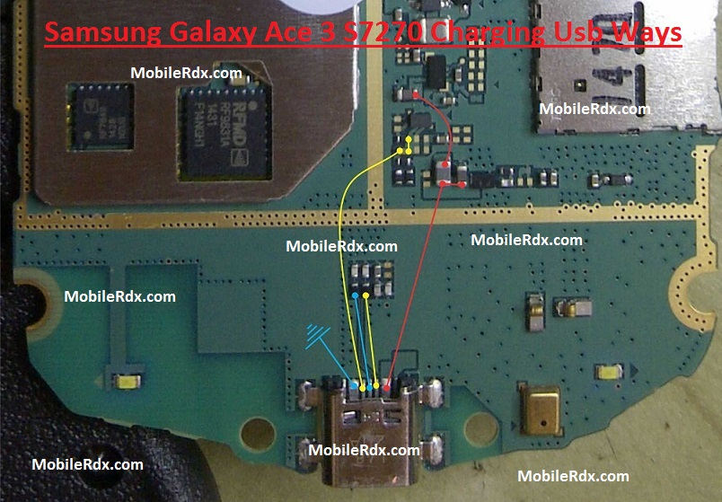 Samsung Galaxy Ace 3 S7270 Charging Solution Usb Jumper Ways