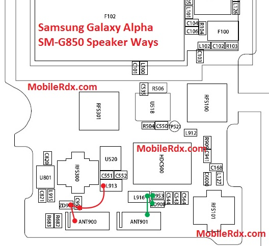 Samsung SM G850 Ringer Speaker Ways Solution - Samsung Galaxy Alpha SM-G850 Speaker Ways Solution