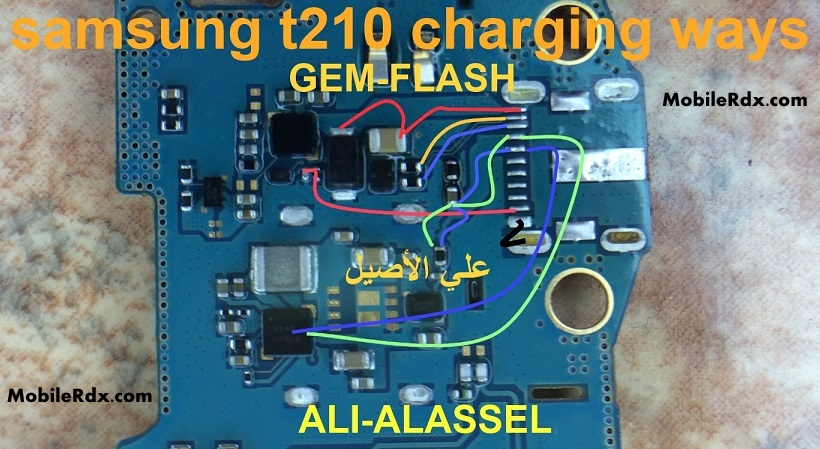 Samsung SM T210 Charging Ways Problem Jumper Solution