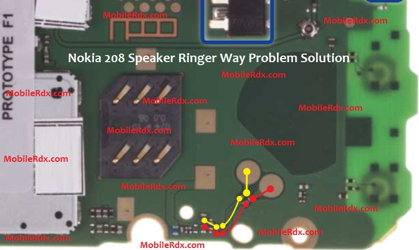 Nokia 208 Speaker Ways Ringer Problem Solution - Repair Nokia 208 Speaker Ways Ringer Problem