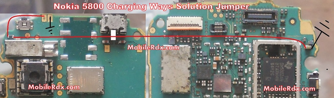 Nokia 5800 Charging Ways Solution Problem Jumper