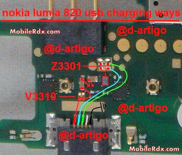 Nokia Lumia 820 Charging Solution Jumper Usb Ways