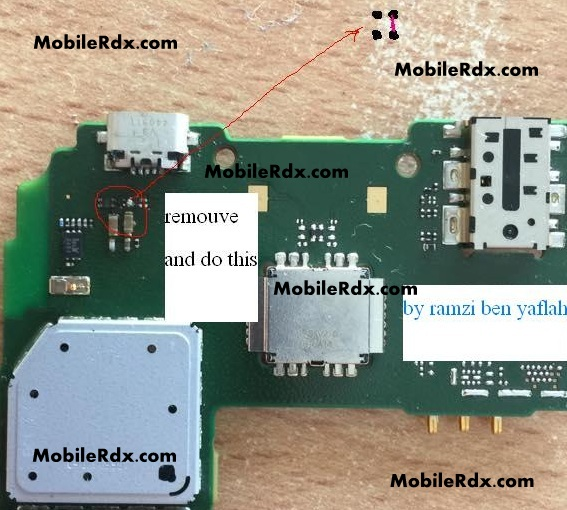 Nokia X2 RM 1013 Charging Problem Solution Charging Ic Jumper