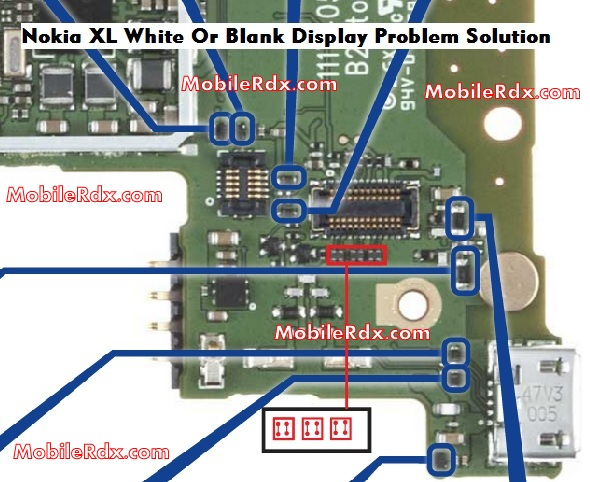 Nokia XL Display Lcd Problem Repair Jumper Solution