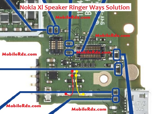 Nokia Xl Android Speaker Ringer Ways Problem Solution - Nokia XL Speaker Ways Solution Ringer Ic Jumper