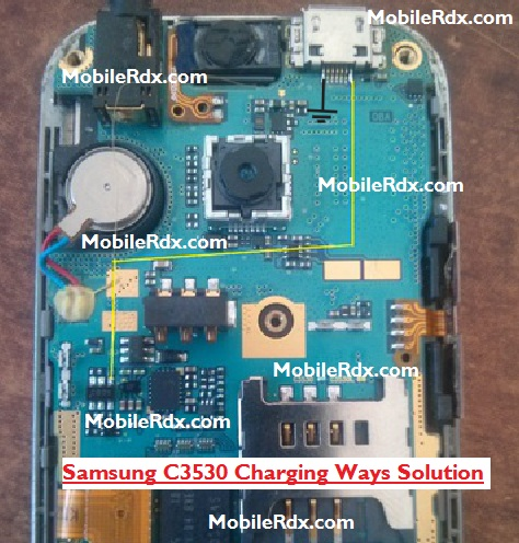 Samsung C3530 Charging Ways Ic Jumper Solution - Samsung C3530 Not Charging Ways Solution Jumper