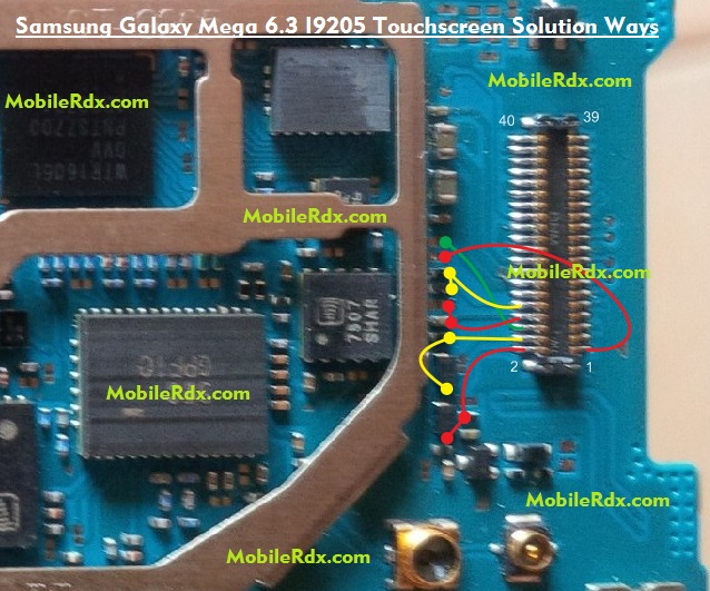 Samsung GT-I9205 Touch Screen Jumper Solution Ways