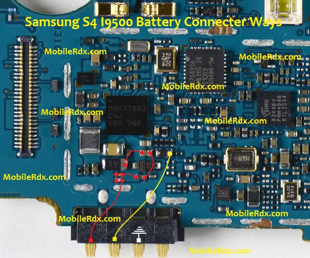 Samsung Galaxy S4 I9500 Battery Connecter Problem Ways