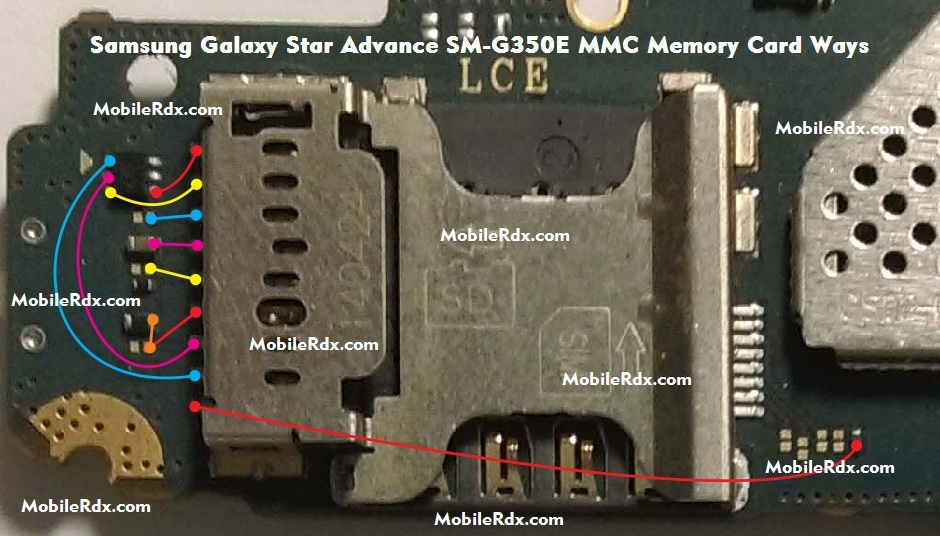 Samsung Galaxy Star Advance SM-G350E MMC Ways Memory Card Problem Jumper Solution