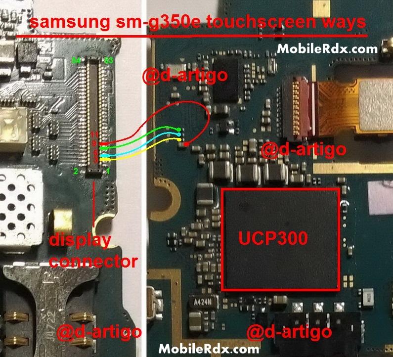 Samsung Galaxy Star Advance SM-G350E Touchscreen Ways Problem Jumper Solution