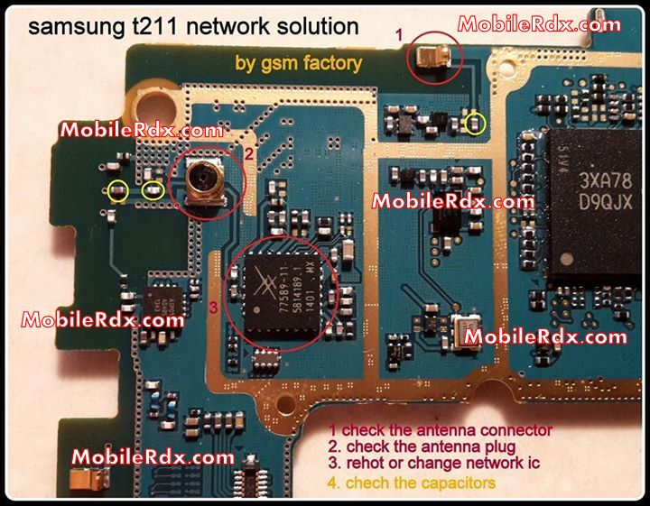 Samsung Galaxy Tab 3 T211 Network Problem Repair Solution