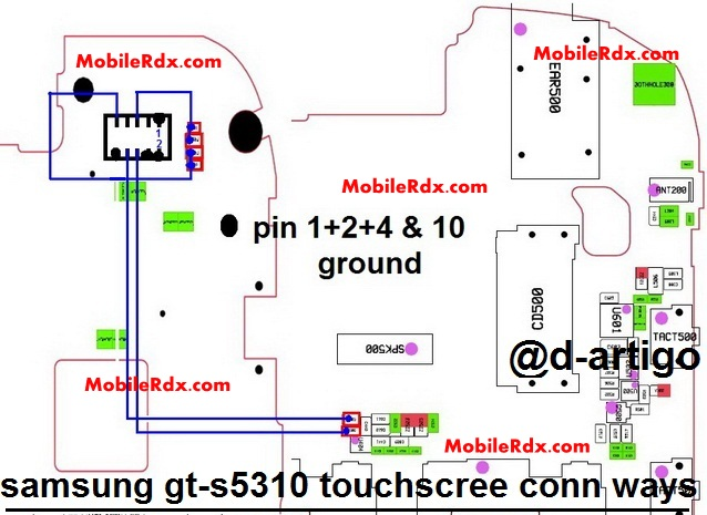 Samsung Pocket Neo S5310 Touch Screen Jumper Solution Ways