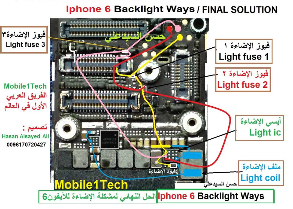 IPhone 6 Display Display Light Problem Final Solution Ways
