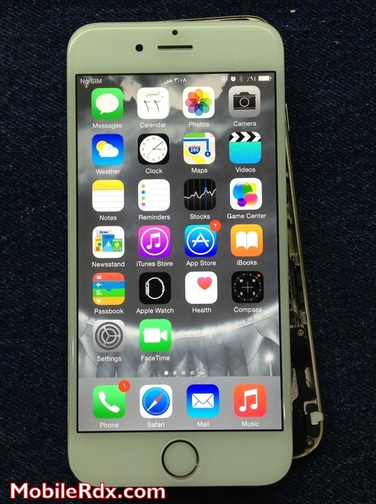 Iphone 6 Display Light Problem Repaired