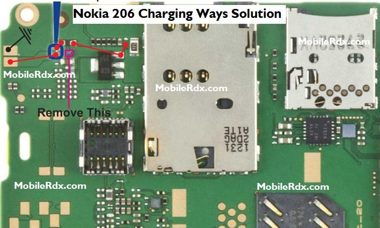 Nokia 206 Charging Ways Solution Jumper