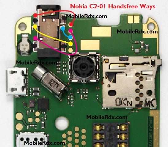 Nokia C2-01 Handsfree Ways Headphone Jumper Solution