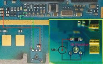Samsung C3322 Mic Ways Jumper Solution