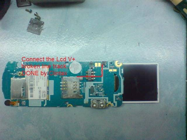 Samsung E1087 Display Light Ways Lcd Solution