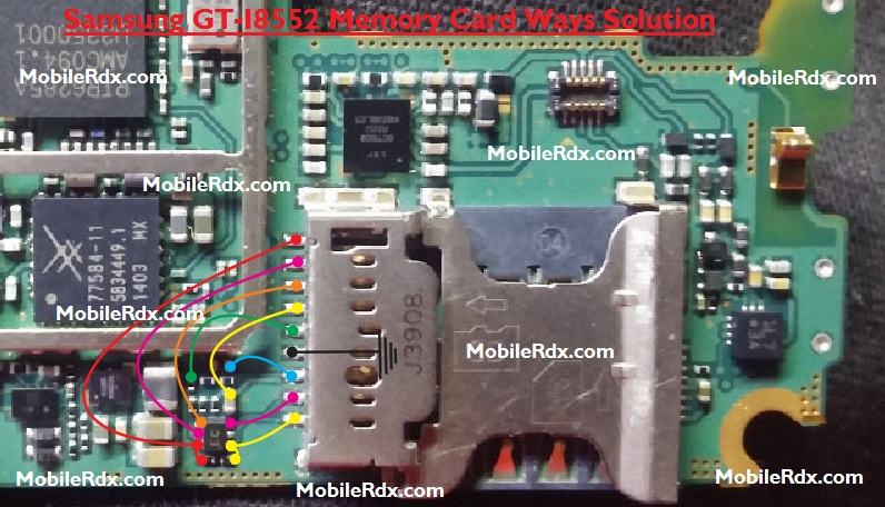 Samsung GT-I8552 MMC Ways Memory Card Jumper Solution
