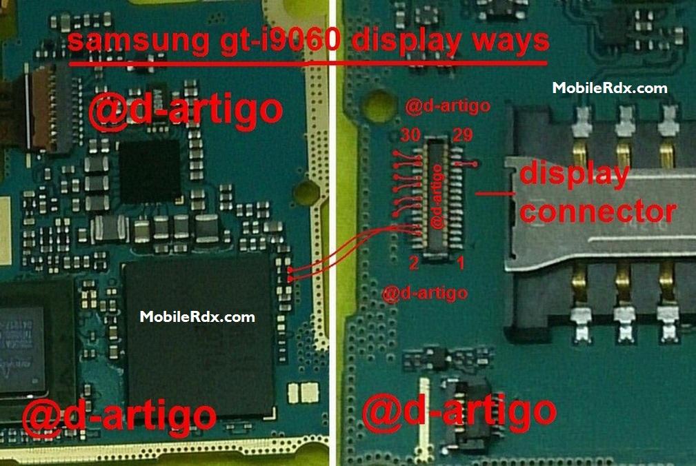 Samsung GT-I9060 Display Light Ways Lcd Jumper Solution