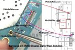Samsung Galaxy Mega I9200 Display Light Ways Lcd Jumper