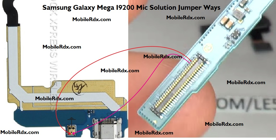 Samsung GT-I9200 Mic Ways Solution Problem Jumper