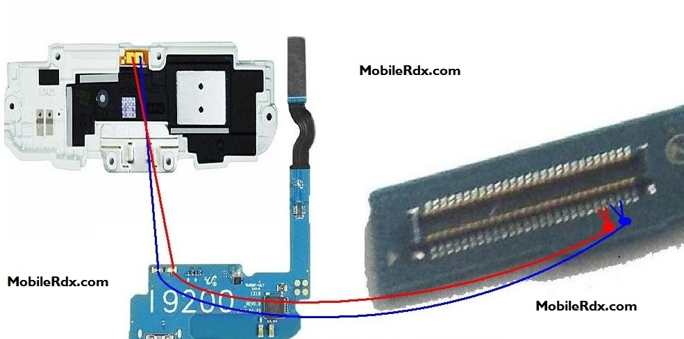 Samsung GT I9200 Speaker Ways Ringer Jumper Solution