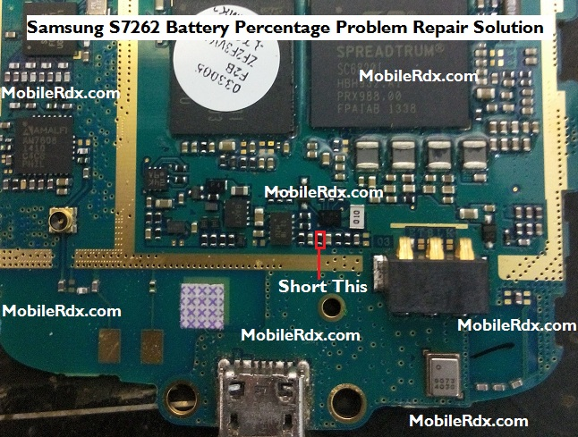 Samsung GT-S7262 Battery Percent Problem Repair Solution
