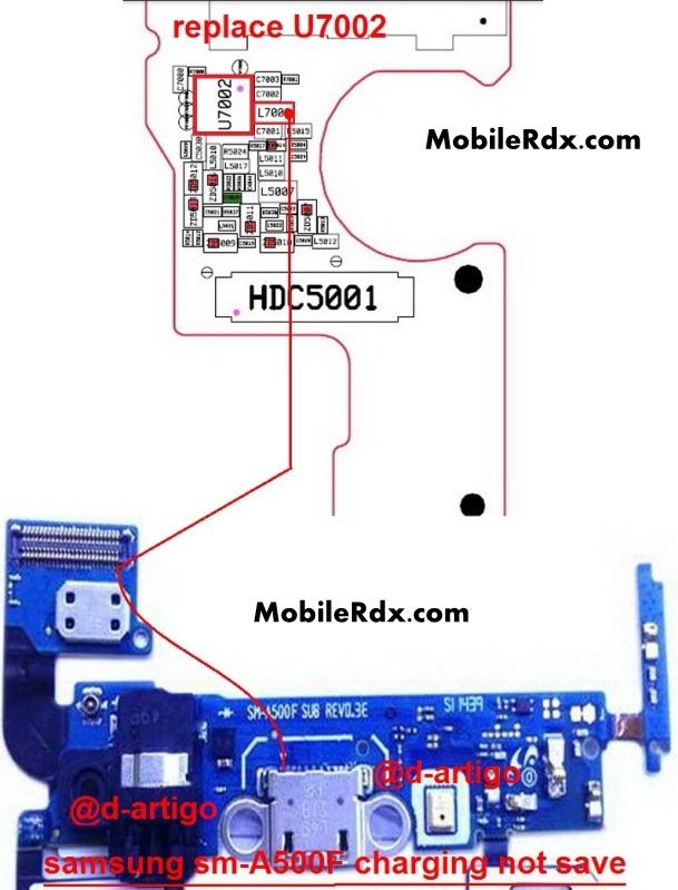 Samsung Galaxy A5 SM-A500F Charging Ways Problem Jumper Ic Solution