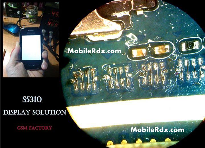 Samsung Galaxy Pocket Neo S5310 White Blank Display Solution Repair