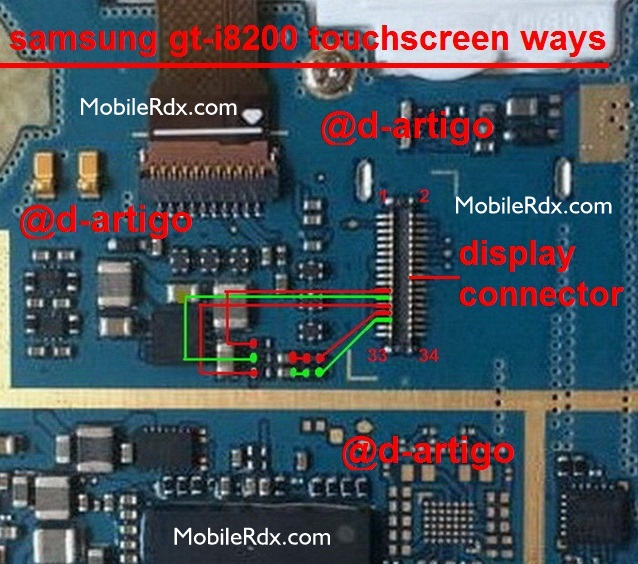 Samsung Galaxy S3 Mini GT-I8200 Touch Screen Ways Solution Problem Jumper