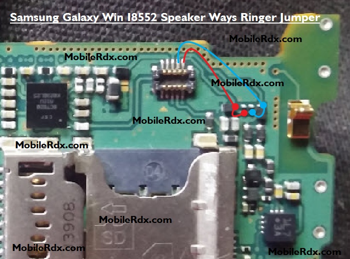 Samsung Galaxy Win I8552 Speaker Ways Ringer Jumper