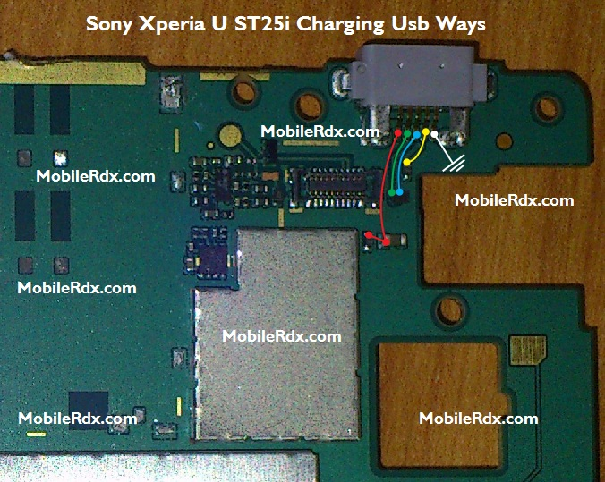 Sony Xperia U ST25i Charging Solution Ways Usb Jumper