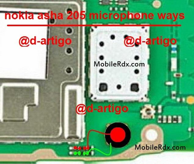 Nokia Asha 205 Mic Problem Jumper Solution Ways