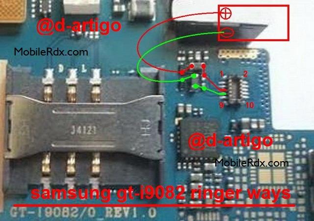 Samsung GT I9082 Ringer Ways Speaker Jumper Solution