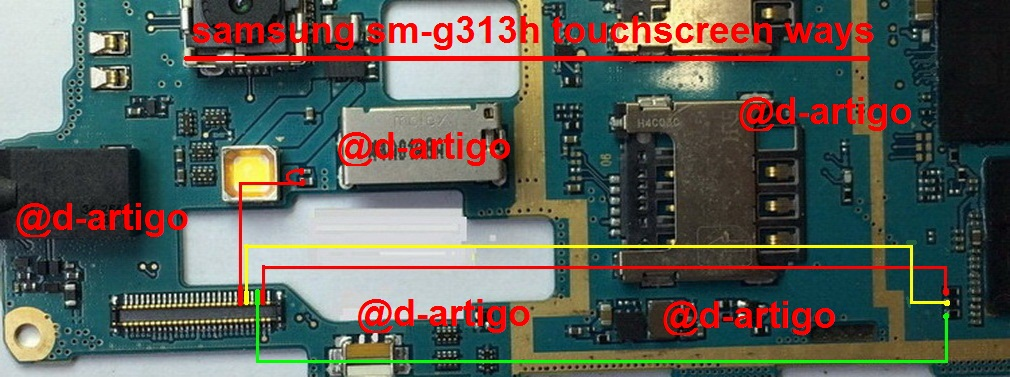 Samsung Galaxy Ace NXT SM-G313H Touch Screen Ways Solution Problem Jumper