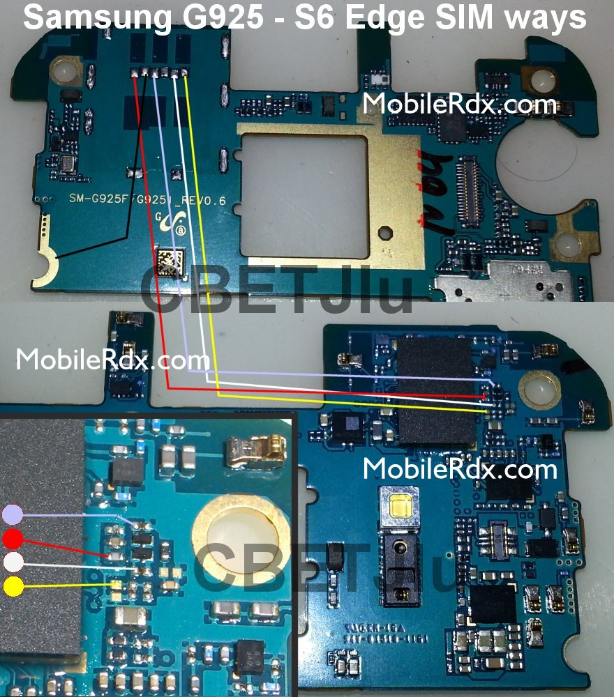 Samsung Galaxy S6 Edge G925 Sim Card Jumper Solution Ways