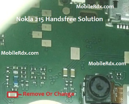 Nokia 215 Handsfree Headphone Mode Activated Solution