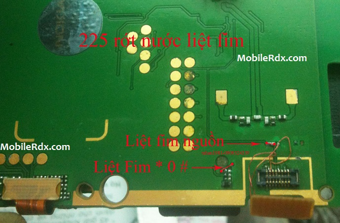 Nokia 225 Keypad Ways Repair Solution Jumper