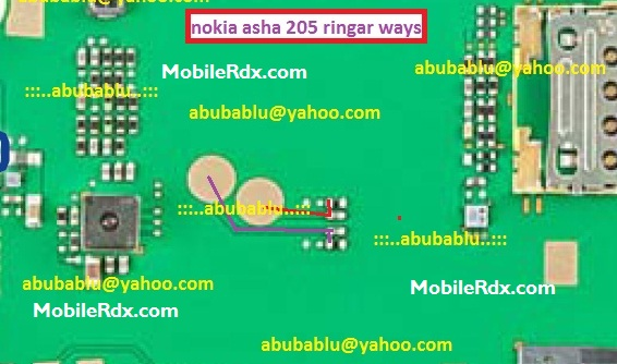 Nokia Asha 205 Ringer Ways Solution Speaker Jumper - Nokia Asha 205 Ringer Ways Solution Speaker Jumper